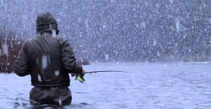 Winter-fisherman